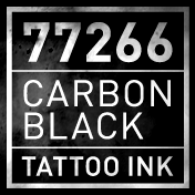 Carbon Black Tattoo Ink