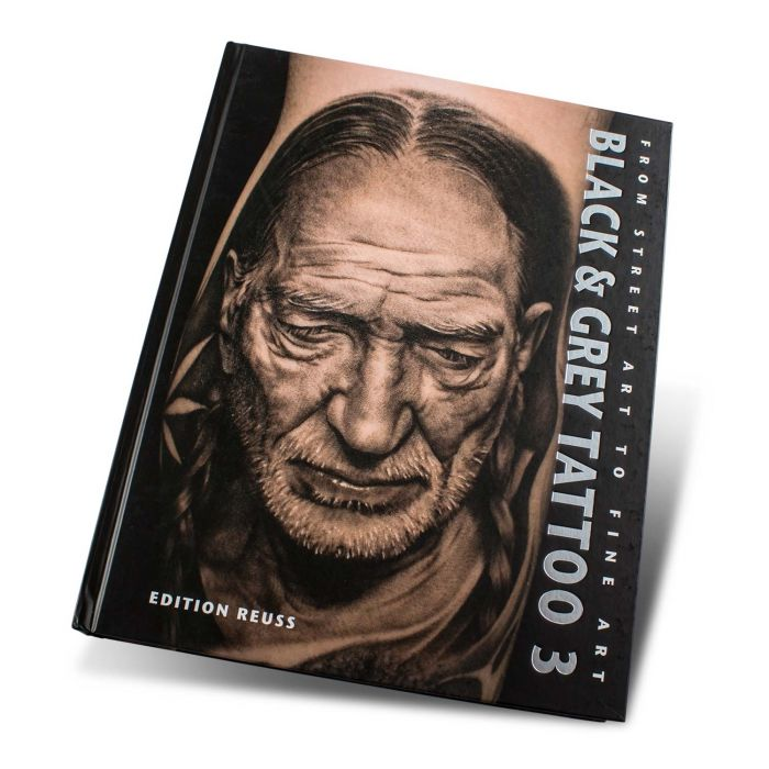 Black & Grey Tattoo Book: 3 - Edition Reuss