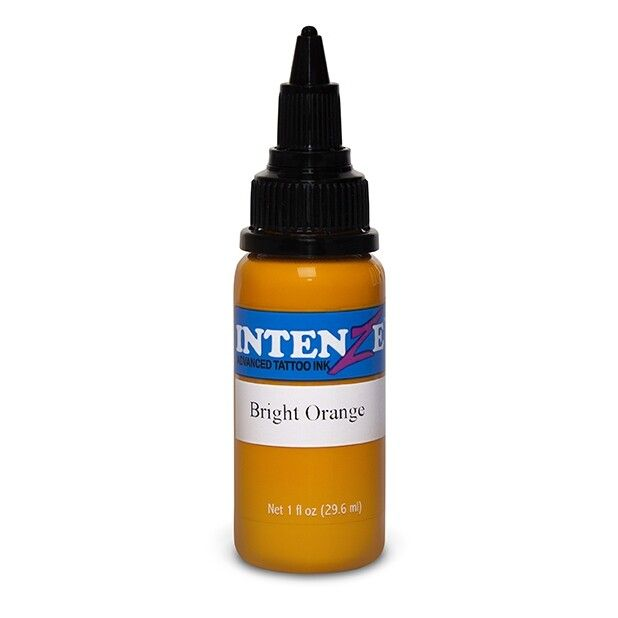 Intenze Ink New Original Bright Orange 30ml (1oz)