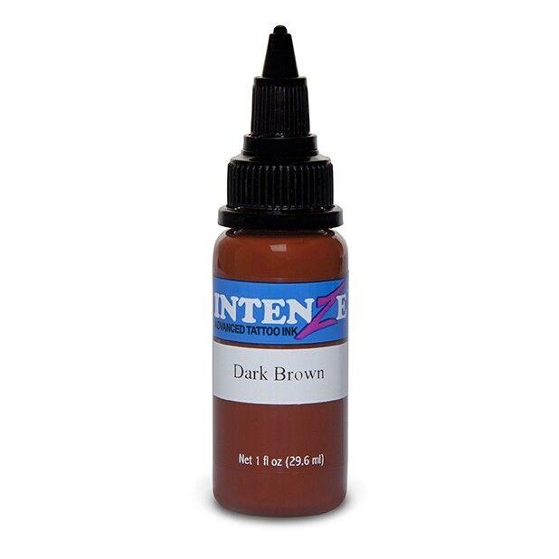Intenze Ink Basic Dark Brown 30ml (1oz)