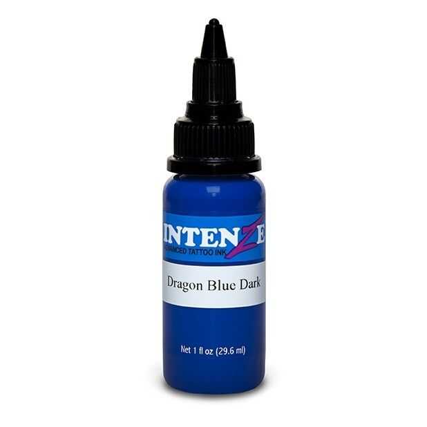 Intenze Ink Dragon Blue Dark 30ml (1oz)