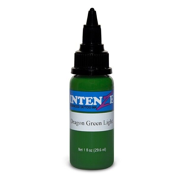 Intenze Ink Dragon Green Light 30ml (1oz)