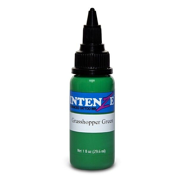 Intenze Ink New Original Grasshopper Green 30ml (1oz)