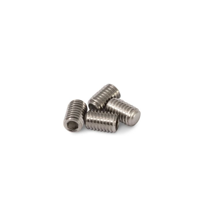 Pack of 4 Grub Screws for 316 Stainless Steel Tattoo Grips