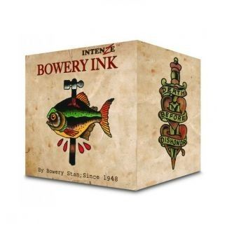 Complete Set of 8 30ml (1oz) Intenze Bowery Ink by Stan Moskowitz