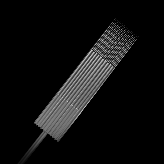 Box of 25 Killer Ink Precision #10 0.30MM Sterile Stainless Steel Tattoo Needles Magnum Weaved