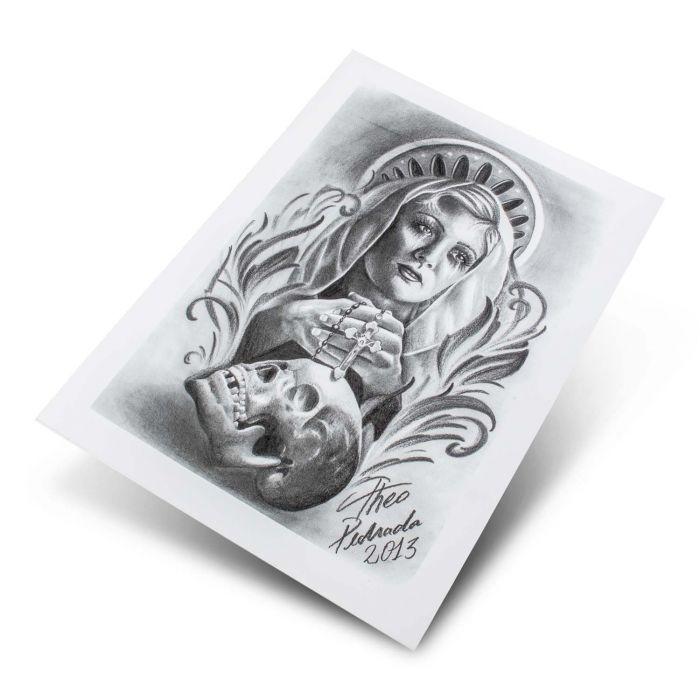 Theo Pedrada - Religious Series 2-13 Flash Series (5 Sheets)