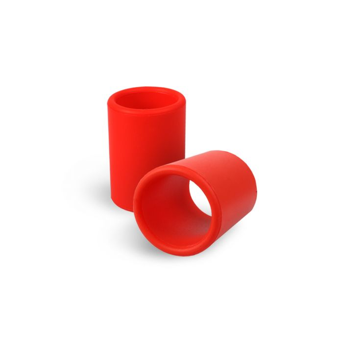 Silicone Grip Cover in Red for Tattoo Grip