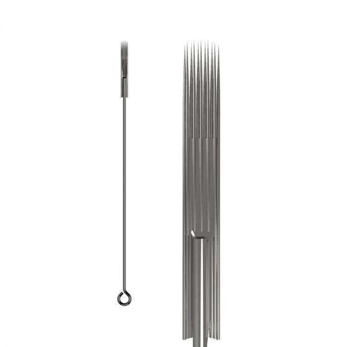 Box of 50 KWADRON Needles 0.30MM LONG TAPER - Soft Edge Magnum