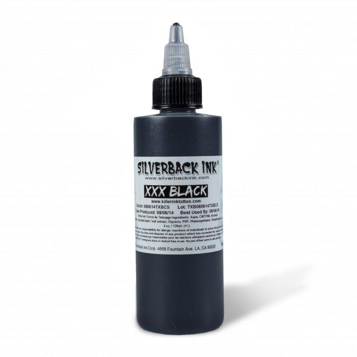 Silverback Ink® XXX Black 120ml (4oz)