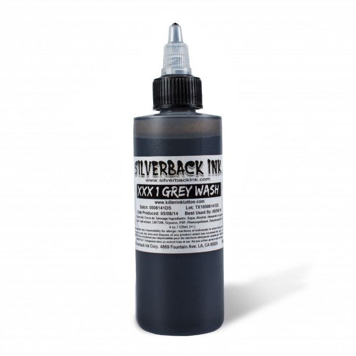 Silverback Ink® XXX Greywash 1 120ml (4oz)