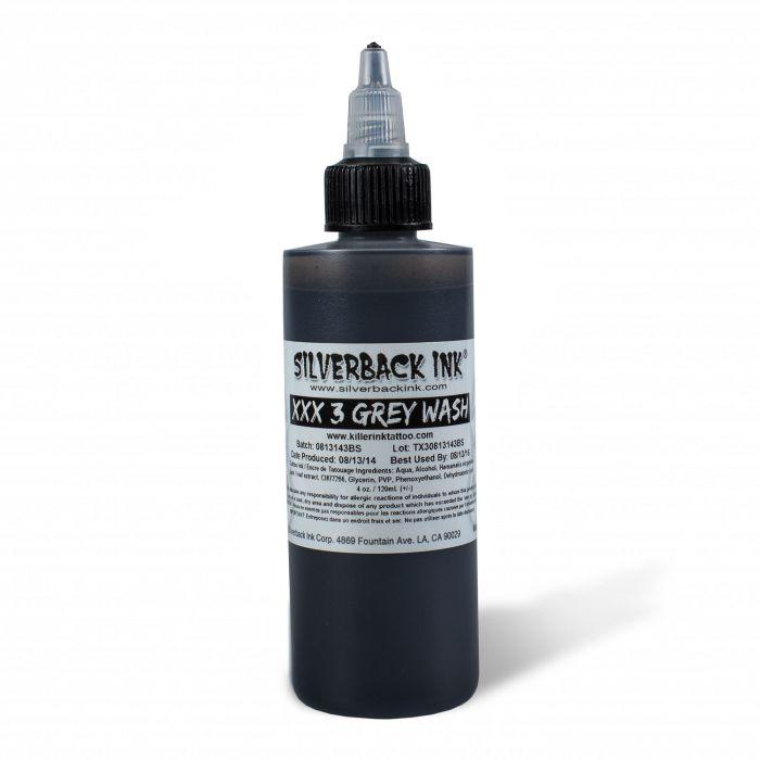 Silverback Ink® XXX Greywash 3 120ml (4oz)