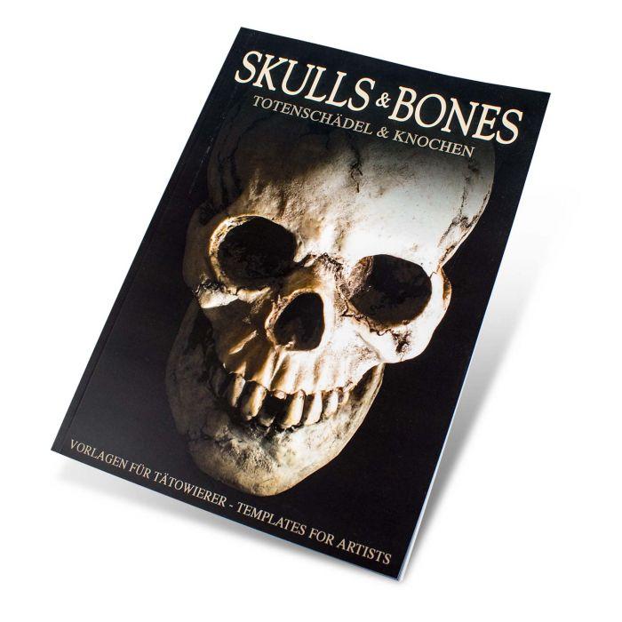 Skull & Bones Book - Templates for Artists