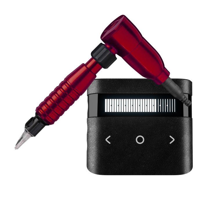 Cheyenne Hawk Spirit Drive + Grip + Power Supply Package in Red